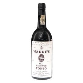 1977 Warre's Vintage Port - 75cL